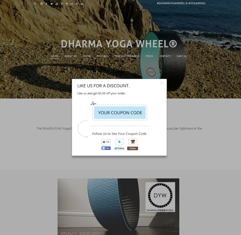 Dharma-Yoga-Wheel-Coupon-Code