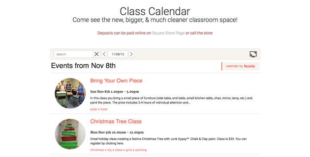 Tokify-Calendar-Screenshot