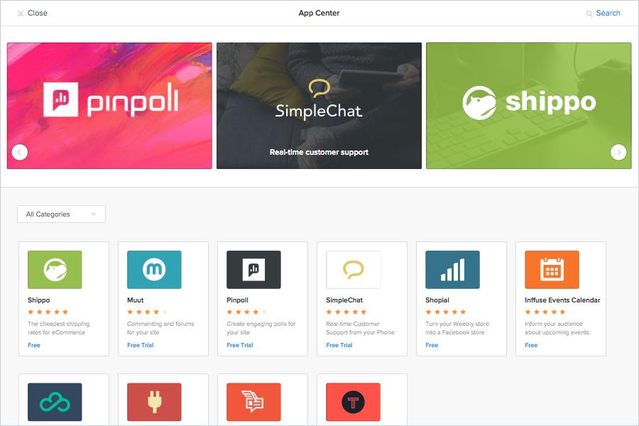 Weebly-App-Center-Screenshot